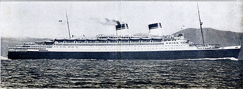 SS Conte di Savoia of the Italian Line. Gross Tonnage 48,502.