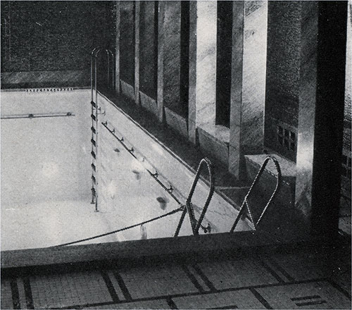 First Class Swimming Pool.