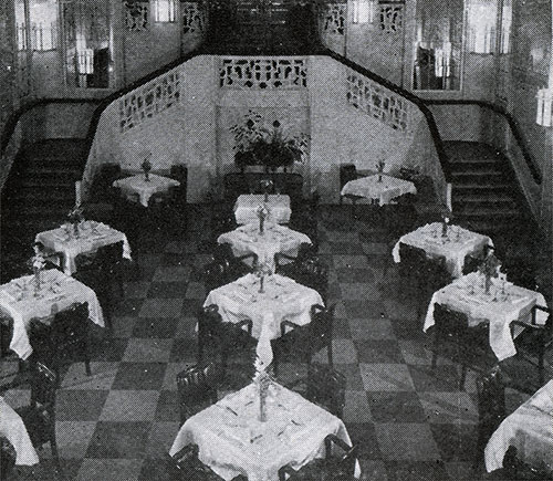 Second Class Dining Room.