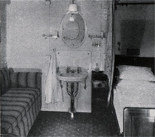 Second Class Stateroom.