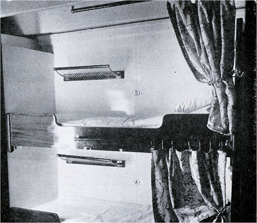 Third Class Two-Berth Cabin.