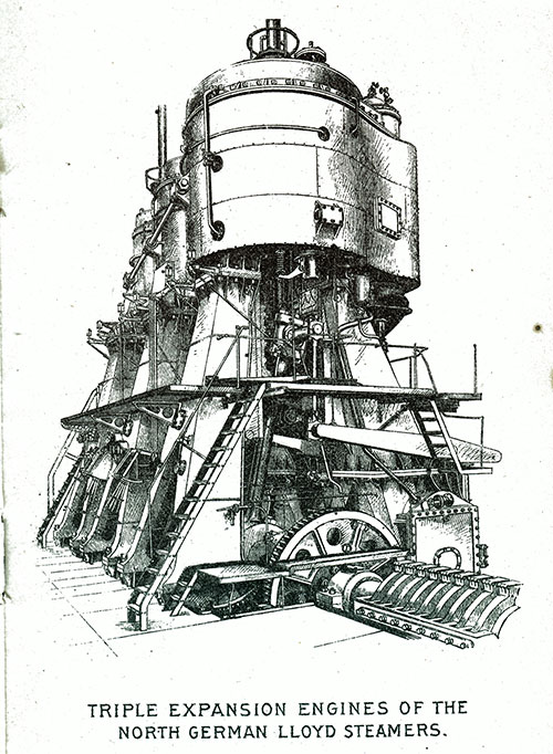 Triple Expansion Engines of the North German Lloyd Steamers.