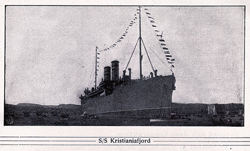 SS Kristianiafjord of the Norwegian America Line.