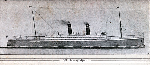 SS Stavangerfjord of the Norwegian-America Line.