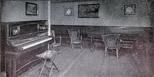 Third class ladies' salon.