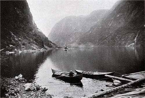 A View of Naeröfjord. Photo by Wilse.