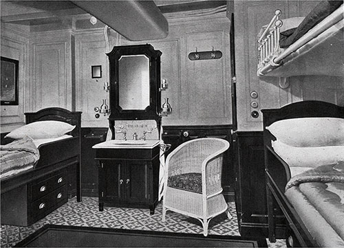 Stateroom -- Home Luxury at Sea.