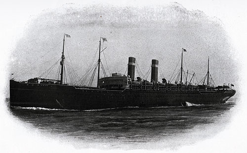The Twin-Screw SS Vaderland, A New Type of Red Star Line Steamship.