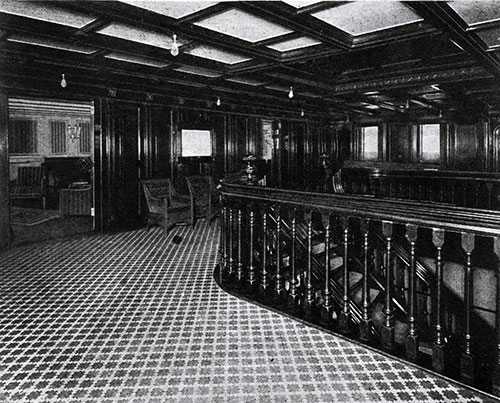 First Class Entrance Hall.