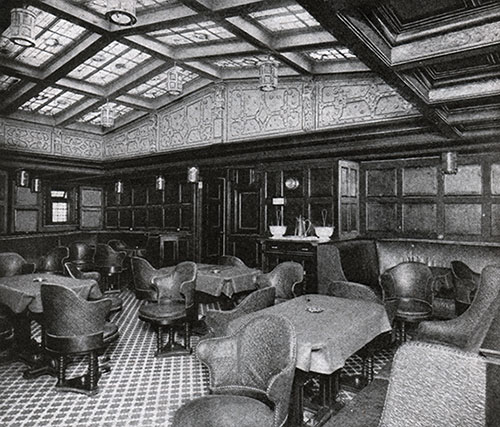 First Class Smoking Room.