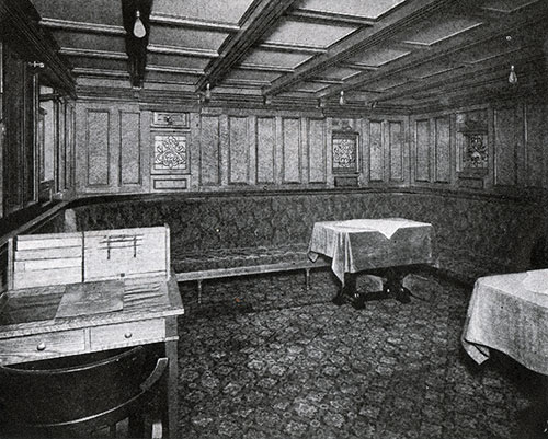 Second Class Ladies' Room.