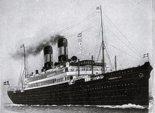 The SS Frederik VIII 1914-1935.The Flagship of the Scandinavian American Line.