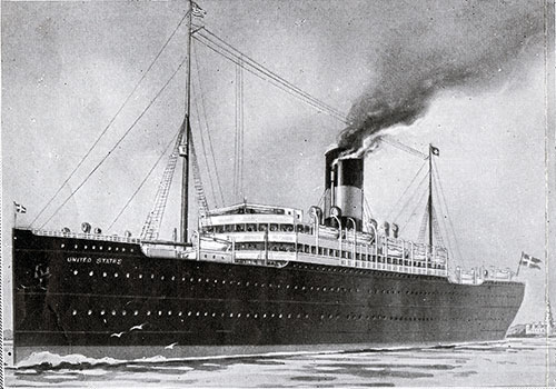 The SS United States of the Scandinavian American Line 1903-1935.
