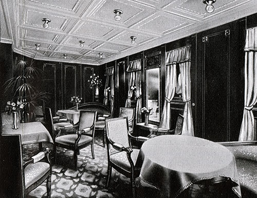 First Cabin Ladies' Saloon.