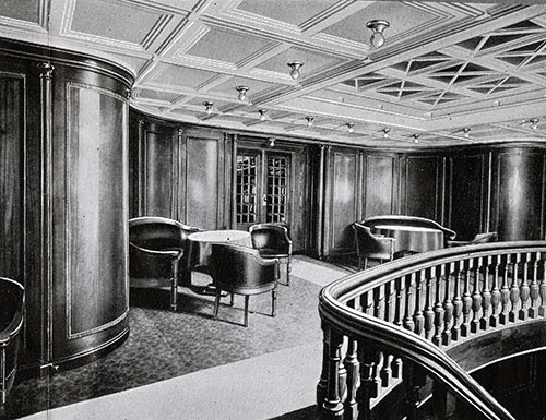 First Cabin Lobby on the Frederik VIII.