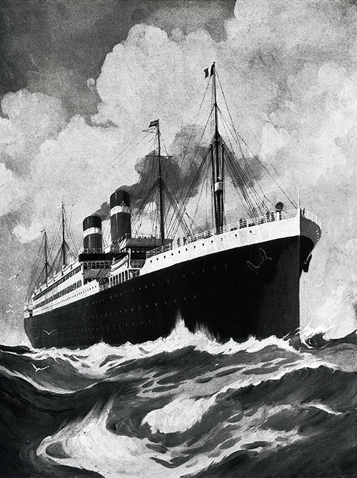 The SS America.