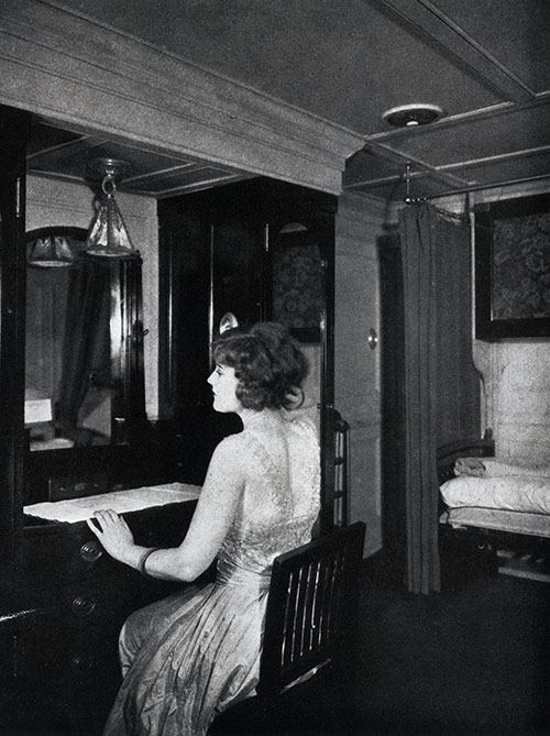 A Spacious, Comfortable Stateroom on the SS President Polk.