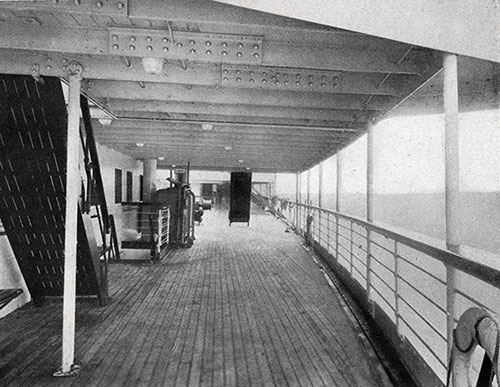 Third Class Covered Deck on the SS Leviathan.