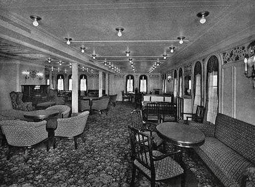 An Attractive Second-Class Lounge.