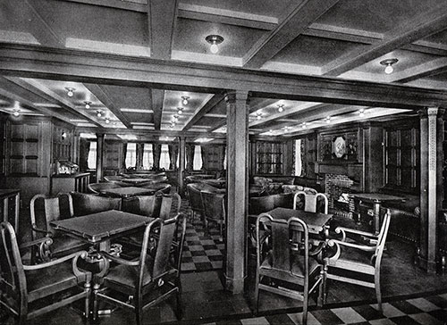 View of the Second-Class Smoking Room.