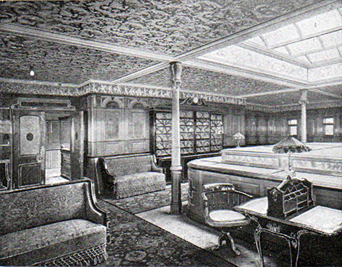 First Class Library on the Cedric and Celtic.