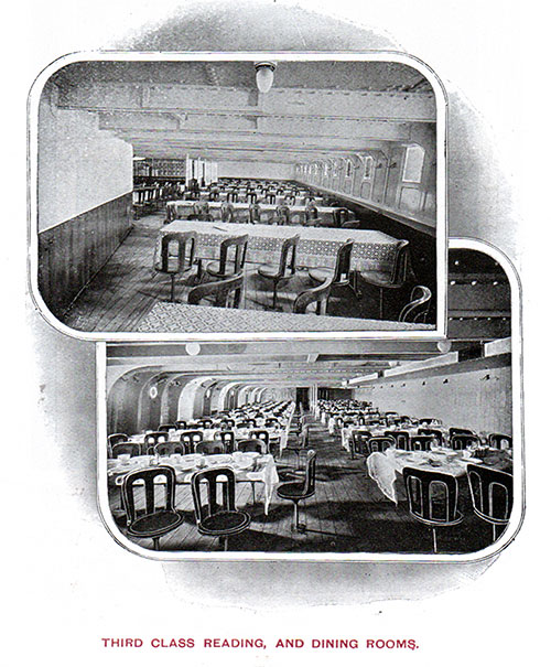Third Class Reading and Dining Rooms.
