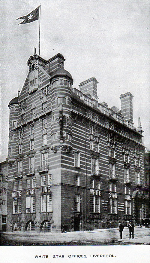 White Star Line Offices, Liverpool.