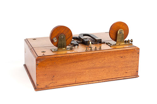 Magnetic Detector by Marconi Used During the Experimental Campaign Aboard a Ship in Summer 1902