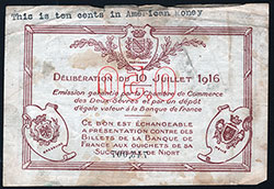 French Currency during WWI