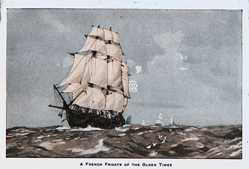 French Frigate of Olden Times