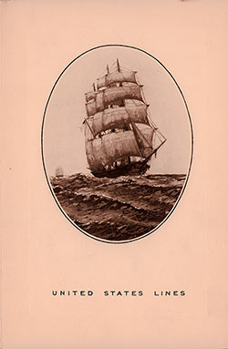 Front Cover, Private Dinner Menu & Dance, Masonic Masters and Wardens on the SS Washington 1933