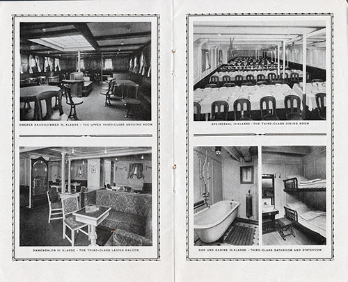Scenes from the Third Class on the S.S. Cleveland