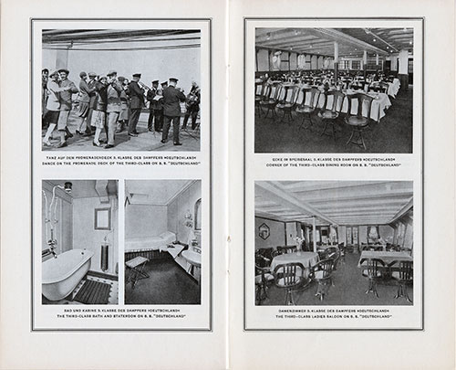 Scenes of the Third Class on the SS Deutschland