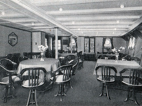 Photo 04 - Third Class Ladies Saloon On The SS New York