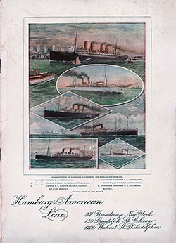 1902-04-22 Ships List for the SS Pennsylvania