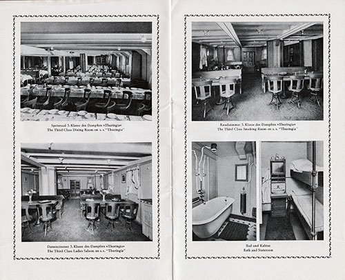 Scenes of the Third Class on the S.S. Thuringia
