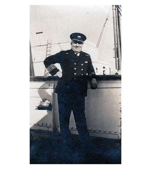 Chief Officer of the SS Lapland