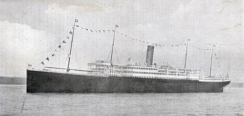 White Star Line Steamship RMS Arabic