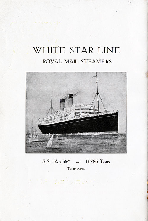 White Star Line RMS Arabic