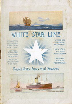 Passenger Manifest, White Star Line S.S. Oceanic, 1909, Southampton and Cherbourg to New York