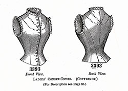 Ladies' Corset-Cover No. 3393