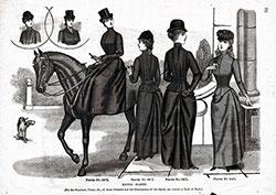 Ladies and Misses Riding Garments 1890