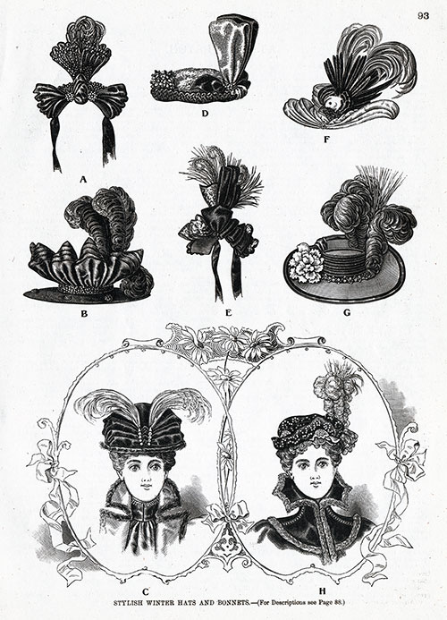 Stylish Winter Hats and Bonnets