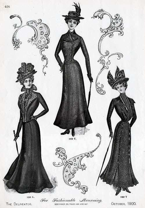 Fashionable Mourning Outfits - View 1