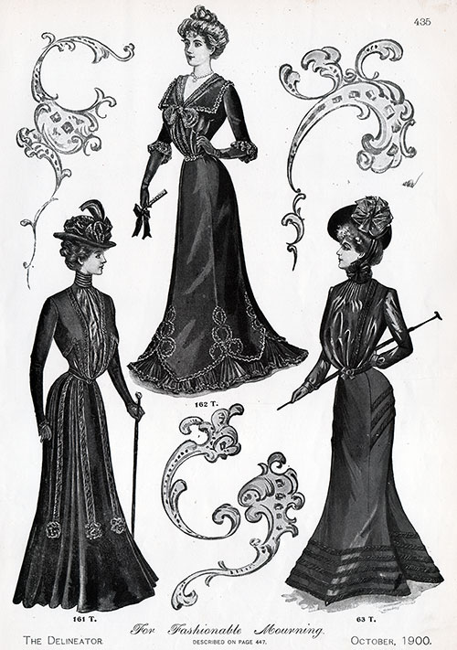 Fashionable Mourning Outfits - View 2