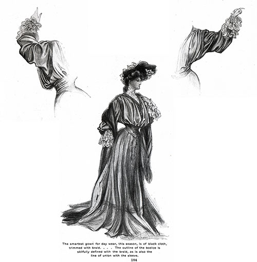 Smart Gown for Day Wear 1904
