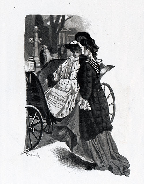 Fashionable Women in Paris 1904
