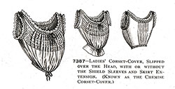 Ladies' Corset-Cover No. 7387