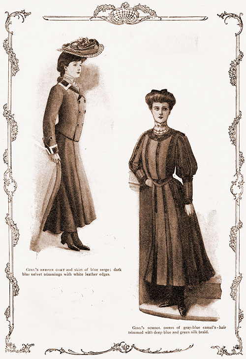 Frocks for Teenage Girls - 1905