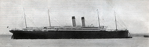 The RMS Baltic of the White Star Line.
